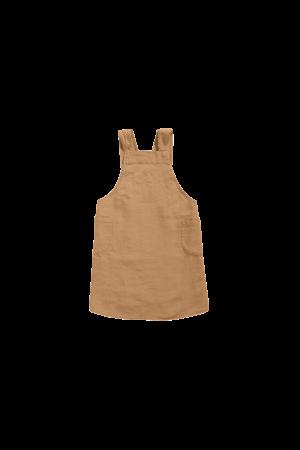 Linge Particulier Japanese apron adult hazelnut