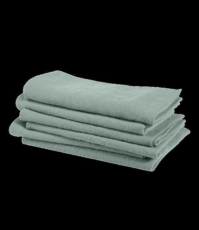 Linge Particulier Napkin linen - sage