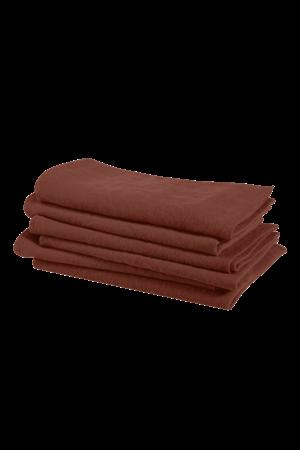 Linge Particulier Napkin linen - dark old orange