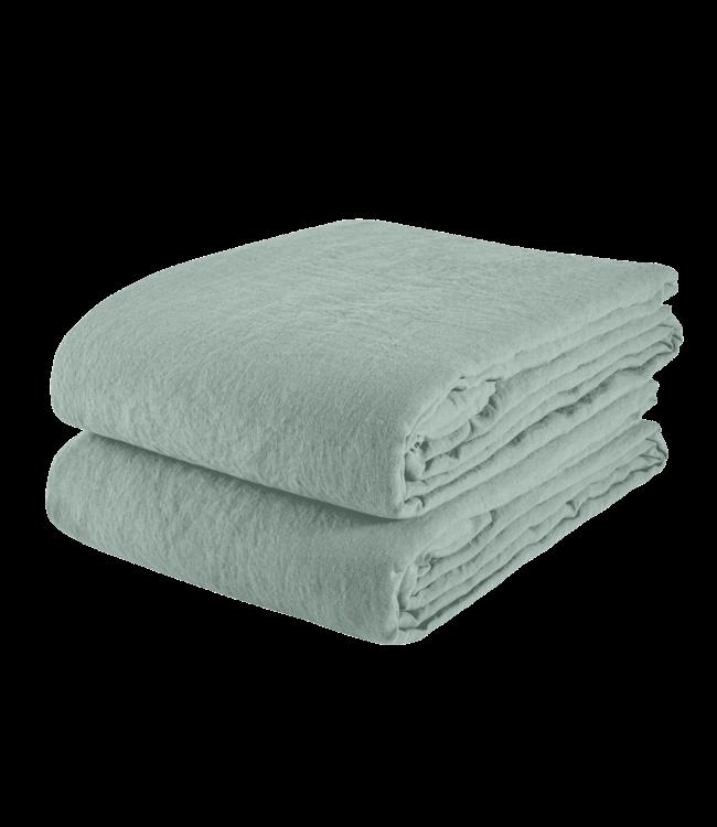 Linge Particulier Tablecloth linen - sage