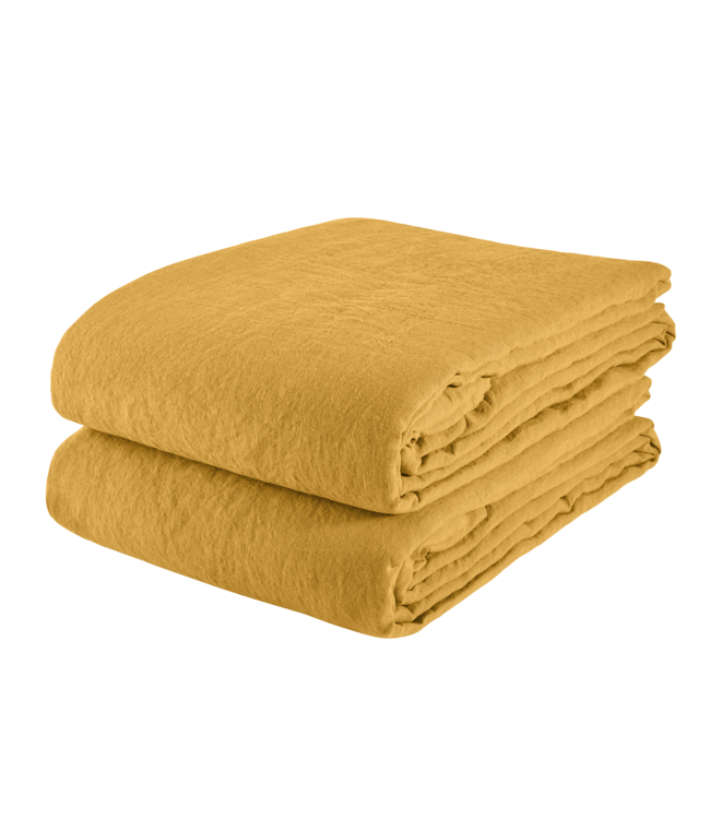 Tablecloth linen - honey