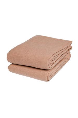 Linge Particulier Tablecloth linen - copper