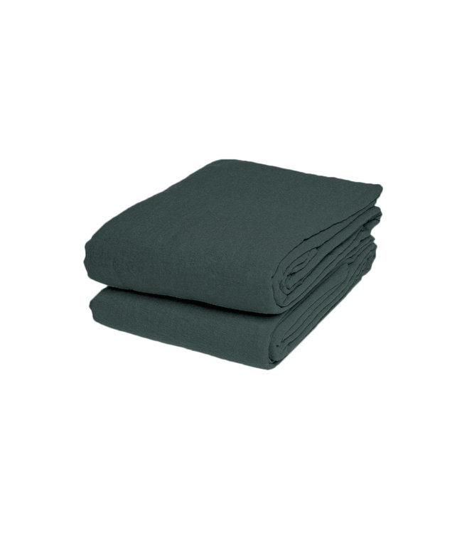 Linge Particulier Tablecloth linen - cedar