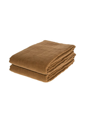 Linge Particulier Tablecloth linen - mustard