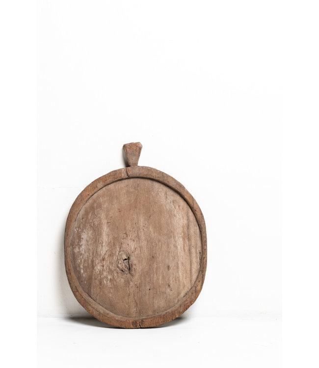 Gua Khao houten schaal - rond