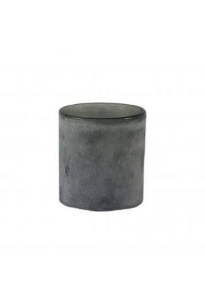 Frost windlicht - grey