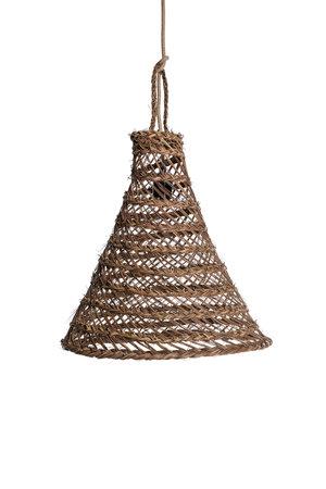Hanglamp 'Cag' alfagras - noisette