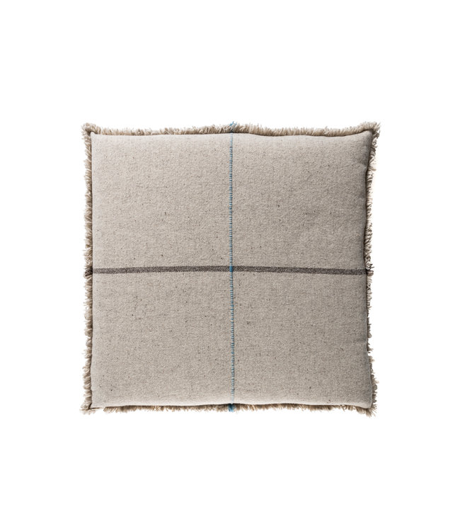 Teixidors Floor cushion Zabu Thor - grey/blue