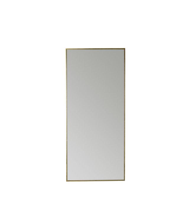 Mirror 180 cm, metal frame - honey/gold