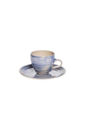Wonki Ware Espresso saucer - plain