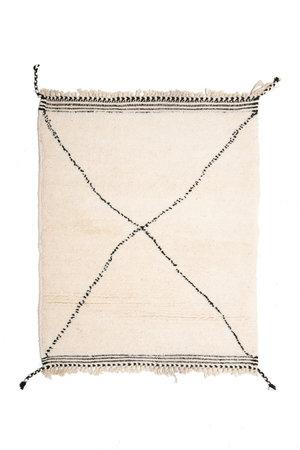 Couleur Locale Beni Ouarain rug #17 - 105x80cm