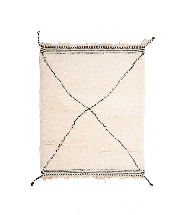 Couleur Locale Beni Ouarain tapijtje #17 - 105x80cm