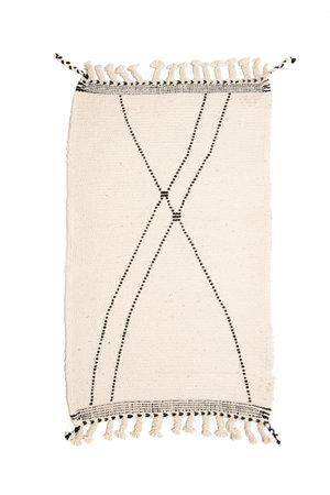 Couleur Locale Beni Ouarain rug #1 - 135x68cm