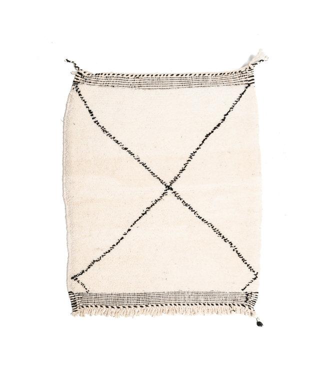 Couleur Locale Beni Ouarain rug #3 - 115x88cm