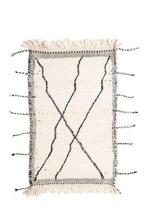 Couleur Locale Beni Ouarain rug #4 - 135x80cm
