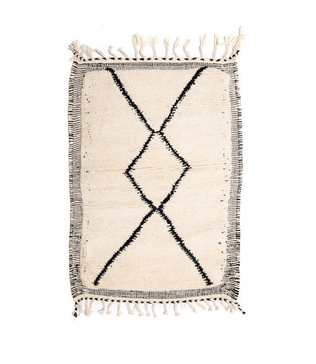 Couleur Locale Beni Ouarain tapijtje #5 - 125x85cm