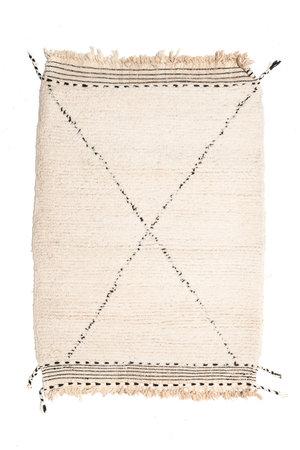 Couleur Locale Beni Ouarain tapijtje #6 - 125x85cm