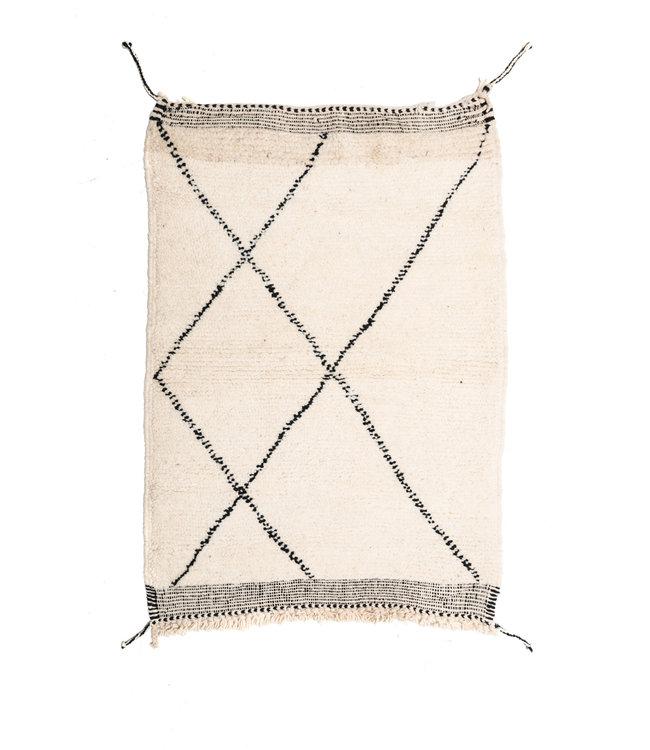 Couleur Locale Beni Ouarain rug  #7 - 120x80cm