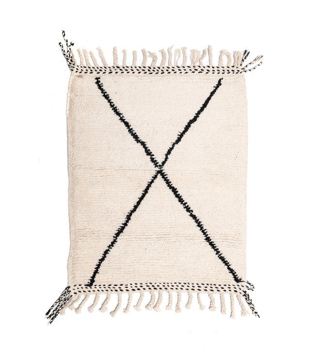 Beni Ouarain rug #8 -110x80cm