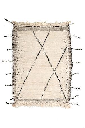 Couleur Locale Beni Ouarain tapijtje #9 - 130x90cm