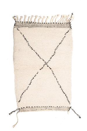 Couleur Locale Beni Ouarain tapijtje #11 - 125x80cm