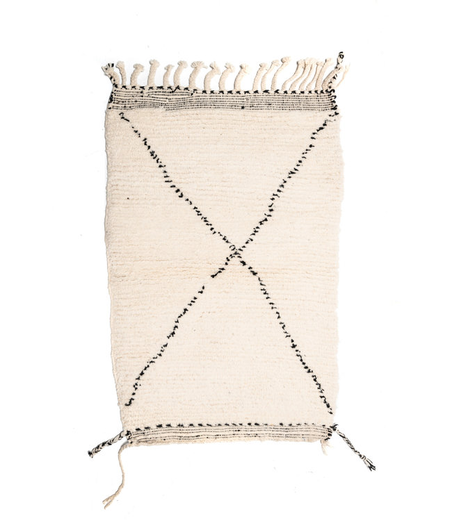 Couleur Locale Beni Ouarain rug #11 - 125x80cm