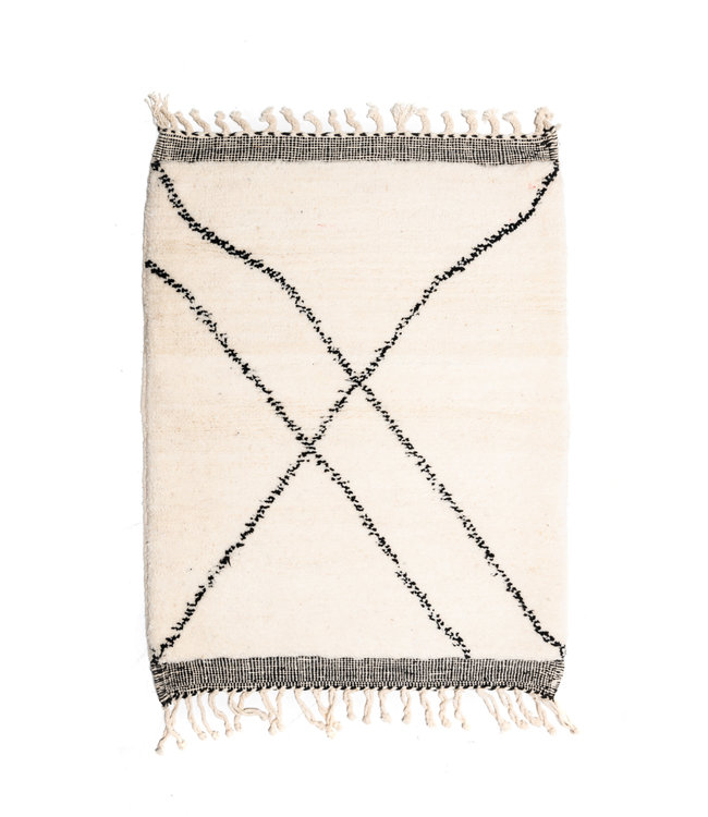 Couleur Locale Beni Ouarain tapijtje #12 - 120x90cm