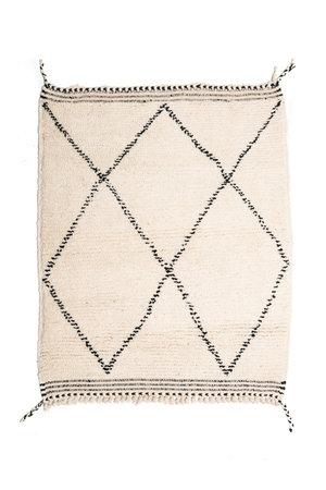 Couleur Locale Beni Ouarain tapijtje #13 - 105x85cm