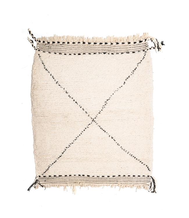 Couleur Locale Beni Ouarain rug #14 - 120x95cm