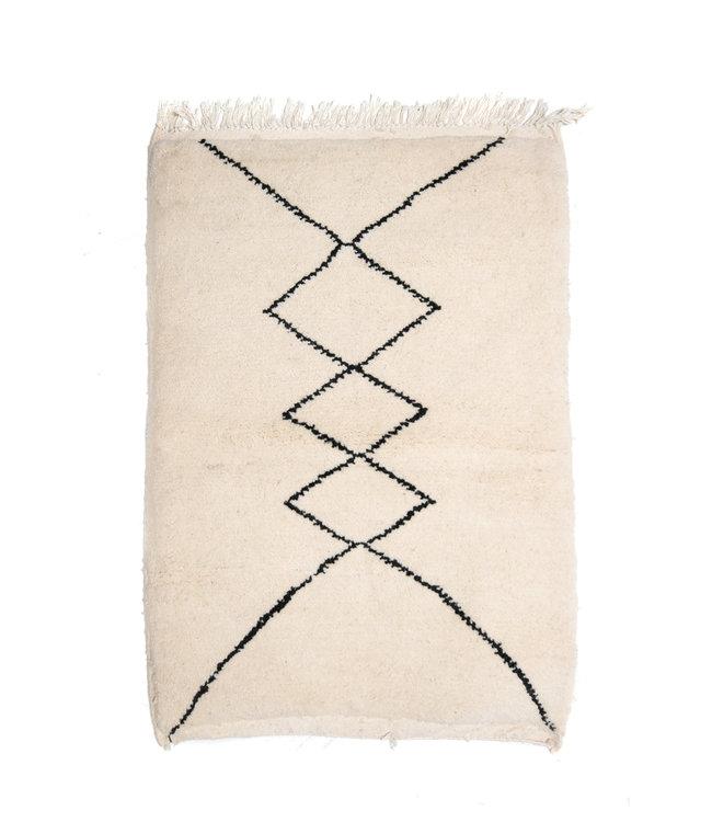 Couleur Locale Beni Ouarain tapijtje #15 - 120x85cm