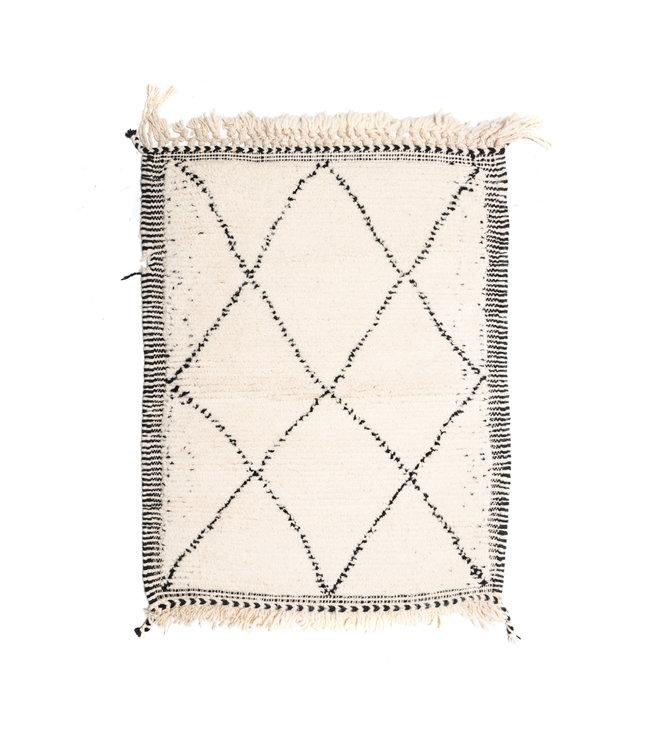 Beni Ouarain rug #16 - 105x80cm