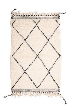 Couleur Locale Beni Ouarain tapijtje #19 - 125x80cm