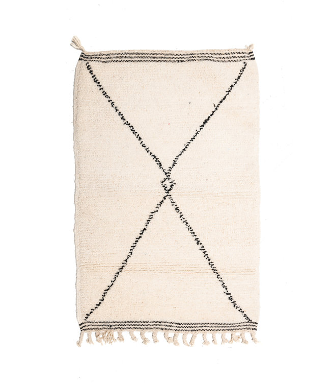 Couleur Locale Beni Ouarain rug #20 - 120x75cm
