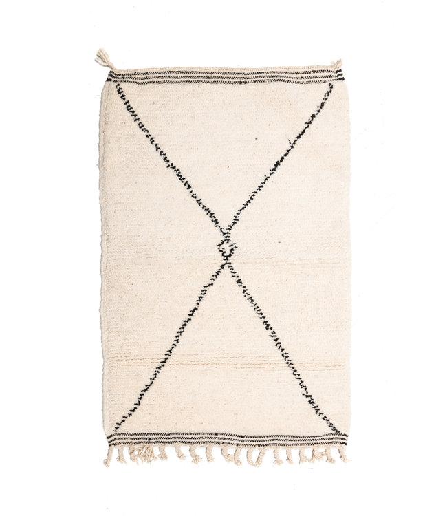 Couleur Locale Beni Ouarain tapijtje #20 - 120x75cm