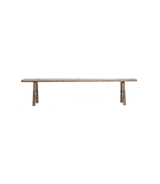 Long bench elm wood - 235cm