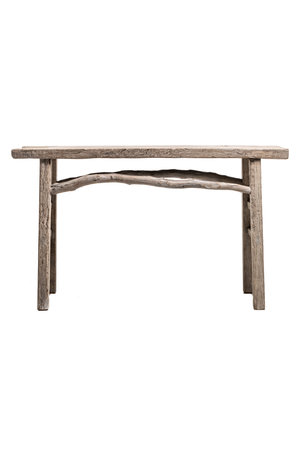 Sidetable elm wood - 144cm