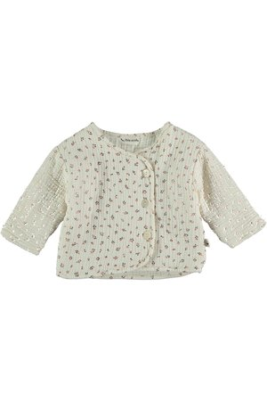 My little cozmo Organic liberty baby padding jacket - ivory