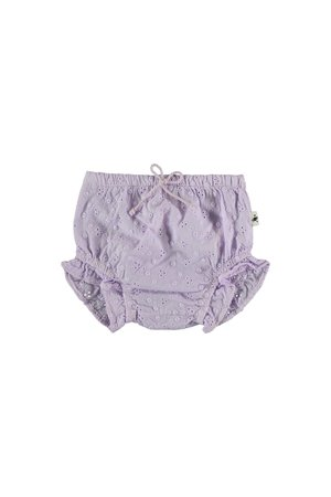 My little cozmo Embroidery baby bloomer - mauve
