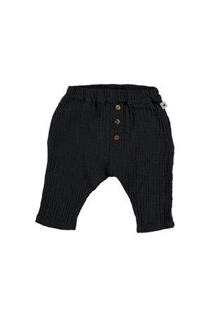 My little cozmo Organic bobble baby trousers - dark blue