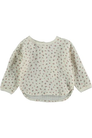 My little cozmo Organic liberty baby blouse - ivory