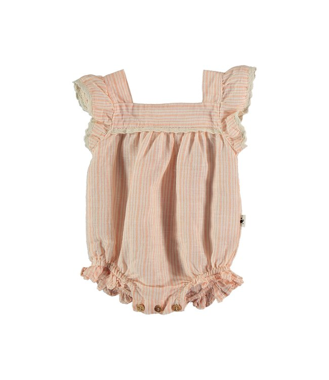 My little cozmo Torino baby romper - peach