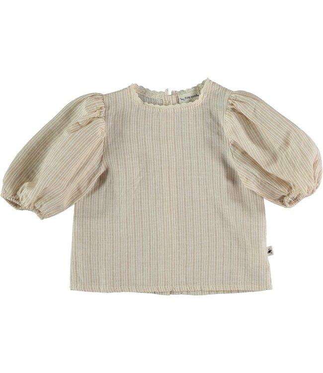 Torino kids blouse - peanut