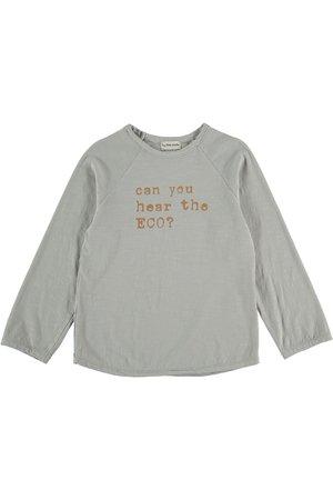 My little cozmo Organic flame kids t-shirt - lightgrey
