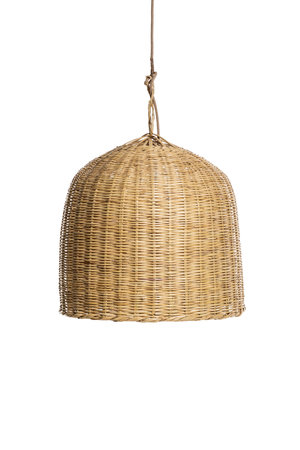 Couleur Locale Bamboo hanging lamp 'tulip'