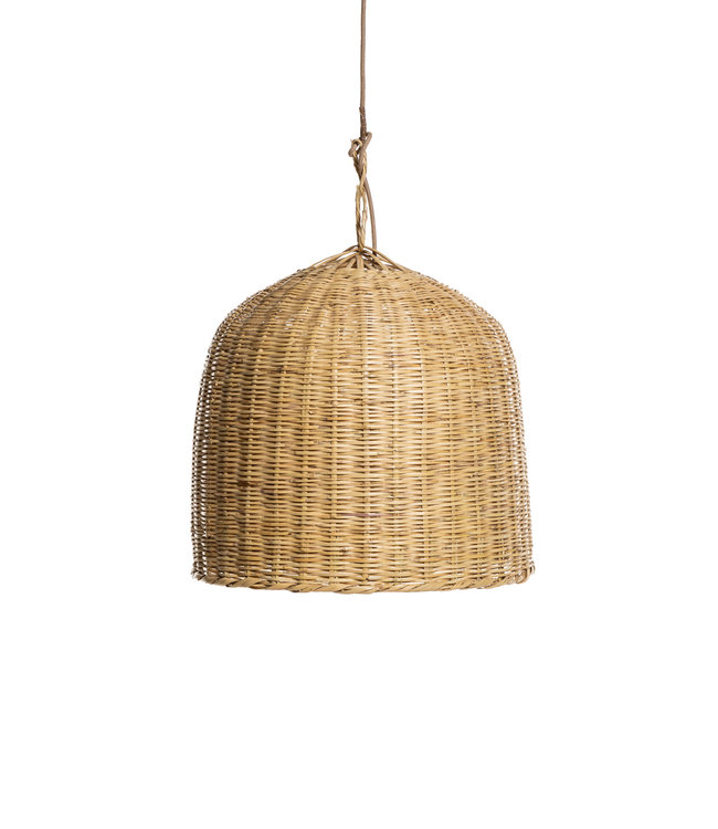 Couleur Locale Bamboe hanglamp 'tulip'