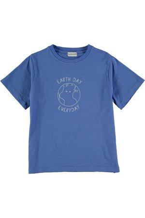 My little cozmo Organic flame kids t-shirt - royal blue