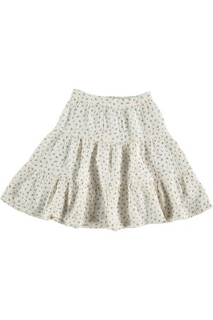 My little cozmo Organic liberty kids skirt - ivory