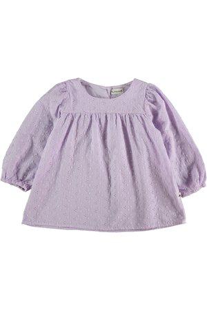 My little cozmo Embroidery kids blouse - mauve
