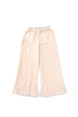 Long Live The Queen Wide pants - beige