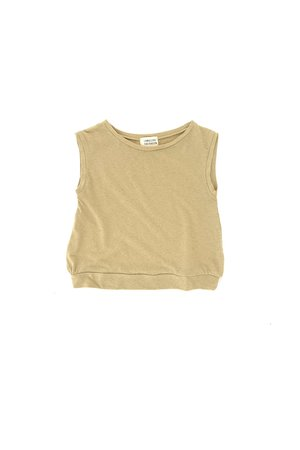 Long Live The Queen Sleeveless tee - sage